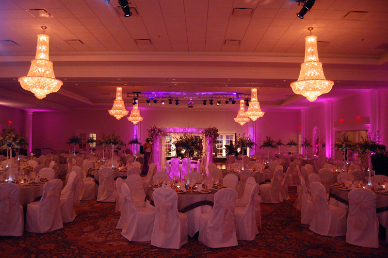 How to transform a hotel ballroom into your dream venue