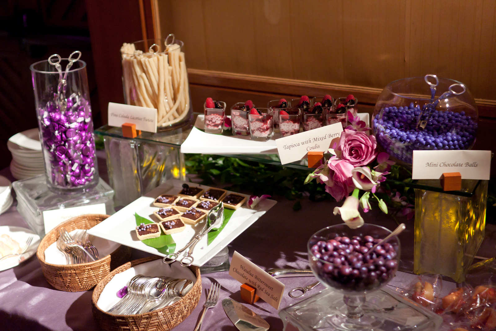 A Dessert Station At Your Wedding Reception