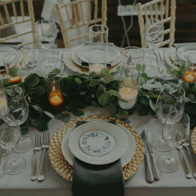 Hunt Country Wedding Decor